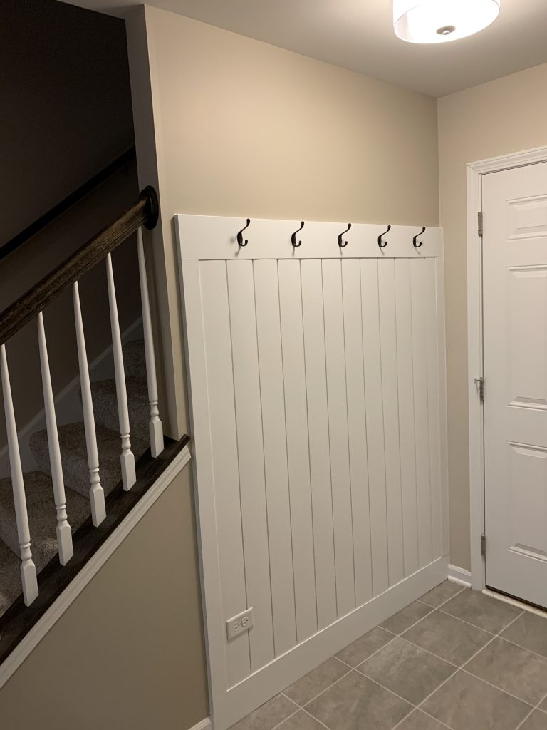 Shiplap with Hooks